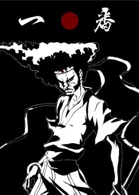 The No. 1 Afro Samurai.Another Fanart from the Anime Af ...