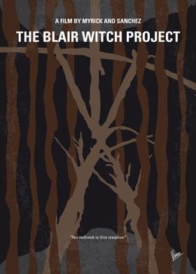 No476 My The Blair Witch Project minimal movie poster  ...
