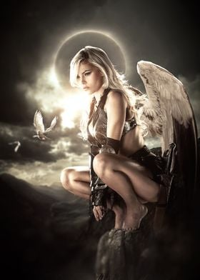 Perched Angel