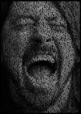 Dave Grohl.  Created from the lyrics of Best Of You