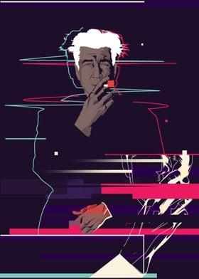 David Lynch - Glitch art