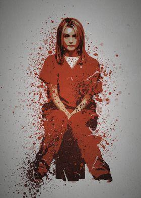 """""""Inmate"""" Splatter effect artwork inspired by Orange is  ..."""