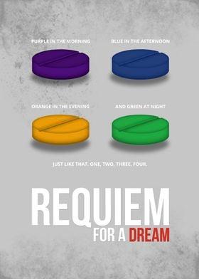 Requiem for a Dream - Minimal Movie Poster