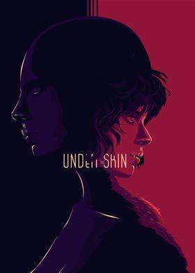 Under the skin - alternative movie poster design II