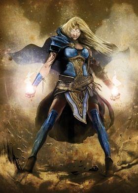 Stormquake Sorceress