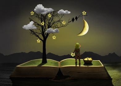 The fairy tale from the night tree
