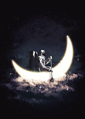 Moon Sailing