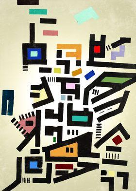 Colorful City Disorganitzation