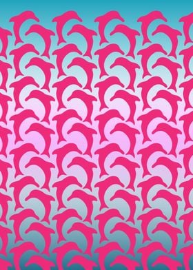 Pink Dolphin Pattern Play