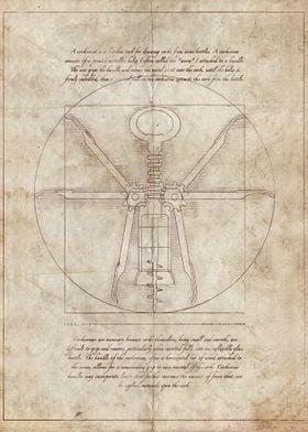 Da Vinci's Real Screw Invention