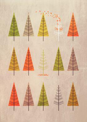 Flock Of Trees