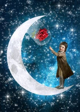 """The Little Prince ― """"If you love a flower that lives on ..."""