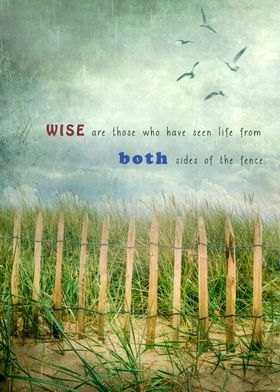 wise are those who have seen life from both sides of th ...