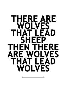 Be A Wolve
