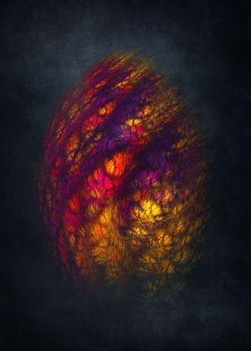 Dragon Egg - fractal art