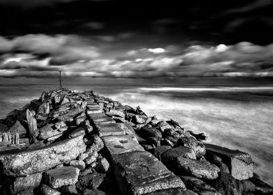 Stormy New Zealand Seascape