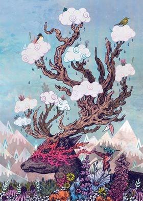 Journeying Spirit (deer)