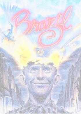 Brazil v1. The poster for Terry Gilliams' Brazil recrea ...