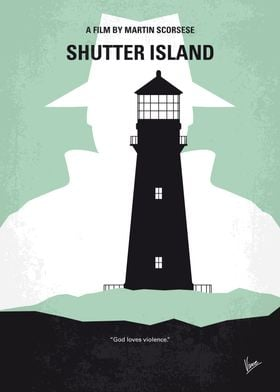 No513 My Shutter Island minimal movie poster A U.S Mar ...