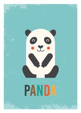 Retro Panda