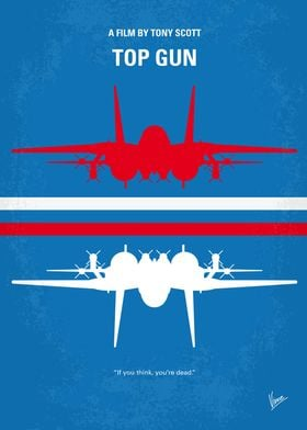 No128 My TOP GUN minimal movie poster As students at t ...