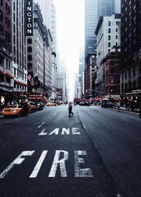 Lane Fire