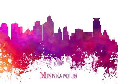 Minneapolis - skyline city