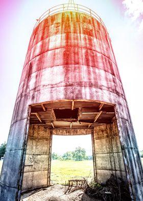 Solar flare silo by Edward M. Fielding