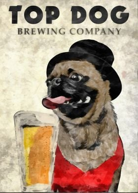 Top Dog Brewing Company by Edward M. Fielding