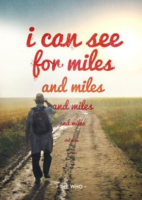 miles and miles