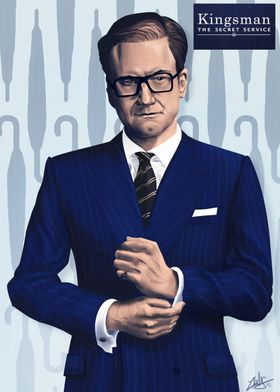 KingsmanThis Poster is a graphic tribute to the movie : ...