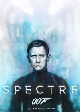 SpectreThis poster is a painting and alternative versio ...