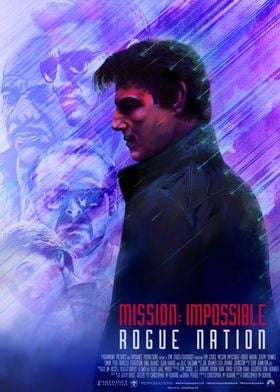 Mission Impossible:Rogue NationThis poster is my graphi ...