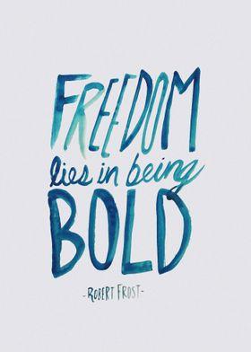 Freedom Bold