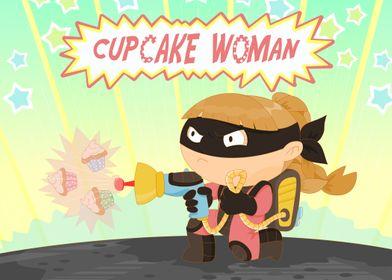 The amazing cupcake woman