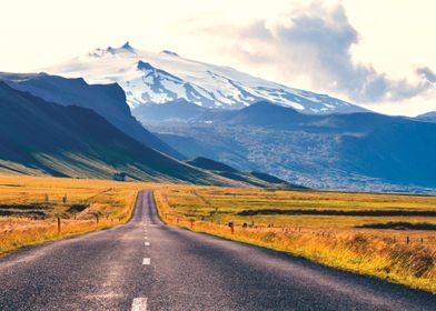 The Road Back Home - Icelandic Beauty