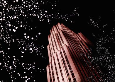 Christmas Lights in New York City - Rockefeller Center  ...