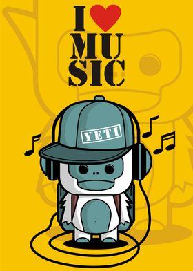 Little Yeti - I Love Music