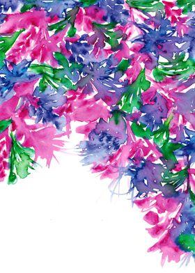 Floral Cascade 1