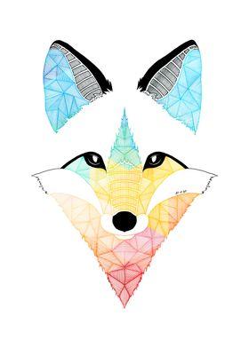Multicolor Fox
