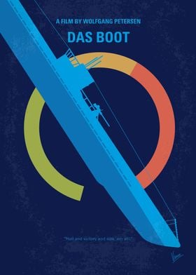 No553 My Das Boot minimal movie poster The claustropho ...