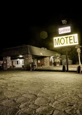 Ludlow Motel at Historic Route 66