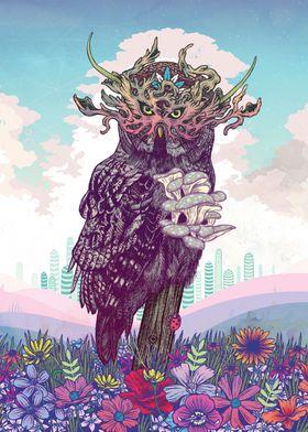 Journeying Spirit (Owl)
