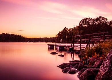 Sunset jetty