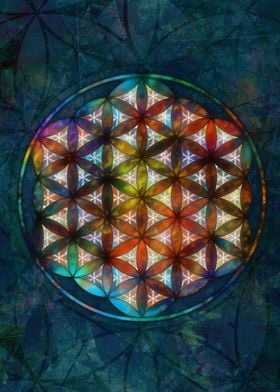 FLOWER OF LIFE The Flower of Life is a geometrical fig ...