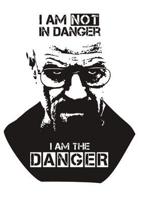 """Mr White from Breaking Bad - """"I am the Danger"""""""