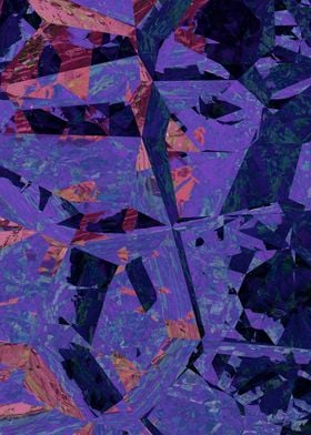 Purple, blue, and pink abstract image
