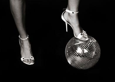 Woman & Disco Ball