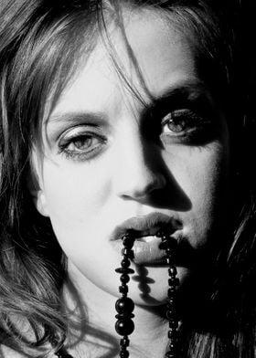 Film noir portrait