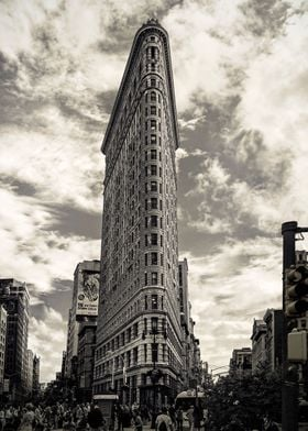 The unmistakable Flatiron Building of NYC; USA.